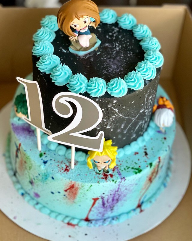 Cake by E.K. Treats and Pastries
