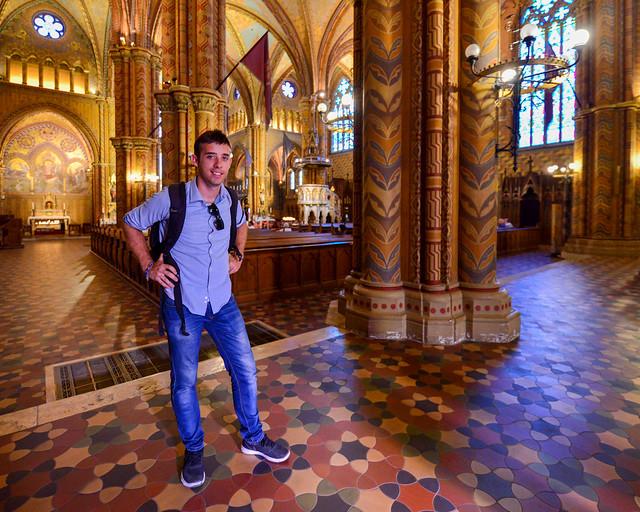 Interior de la iglesia de San Matías
