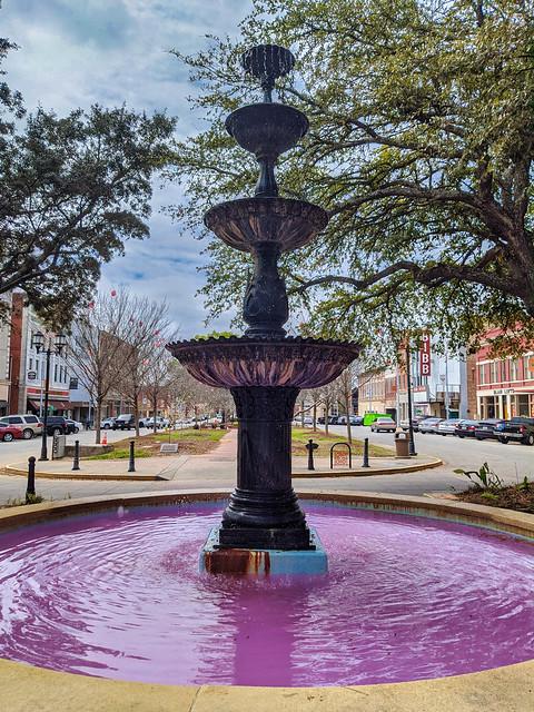 Cherry Street Fountain - Macon, Georgia