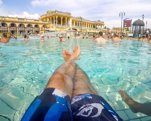 Relax en el balneario de Széchenyi