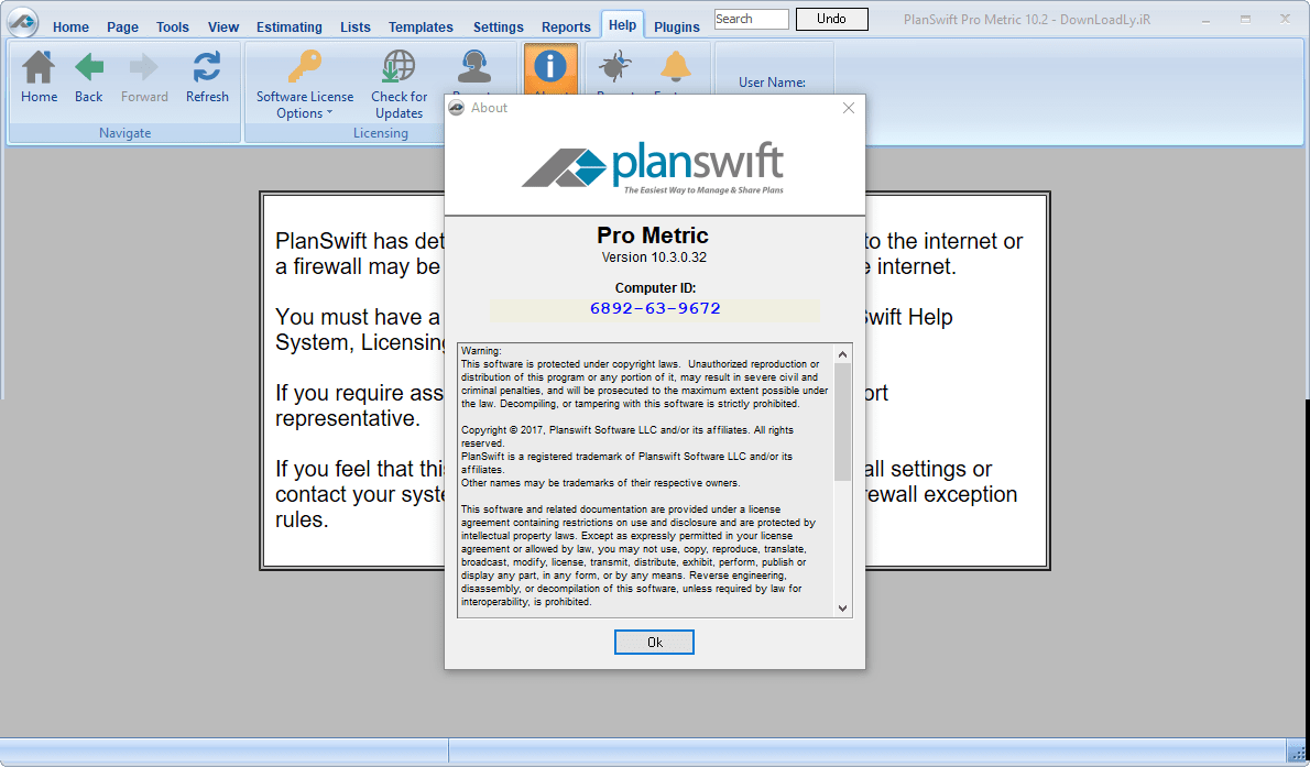 Download PlanSwift Pro Metric 10.3.0.47 full license 100% working