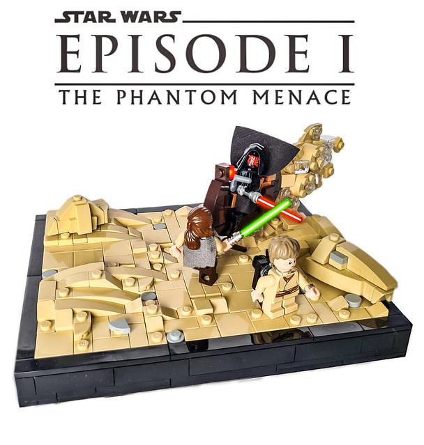 LEGO STAR WARS Episode I The Phantom Menace - Maul's attack on Tatooine
