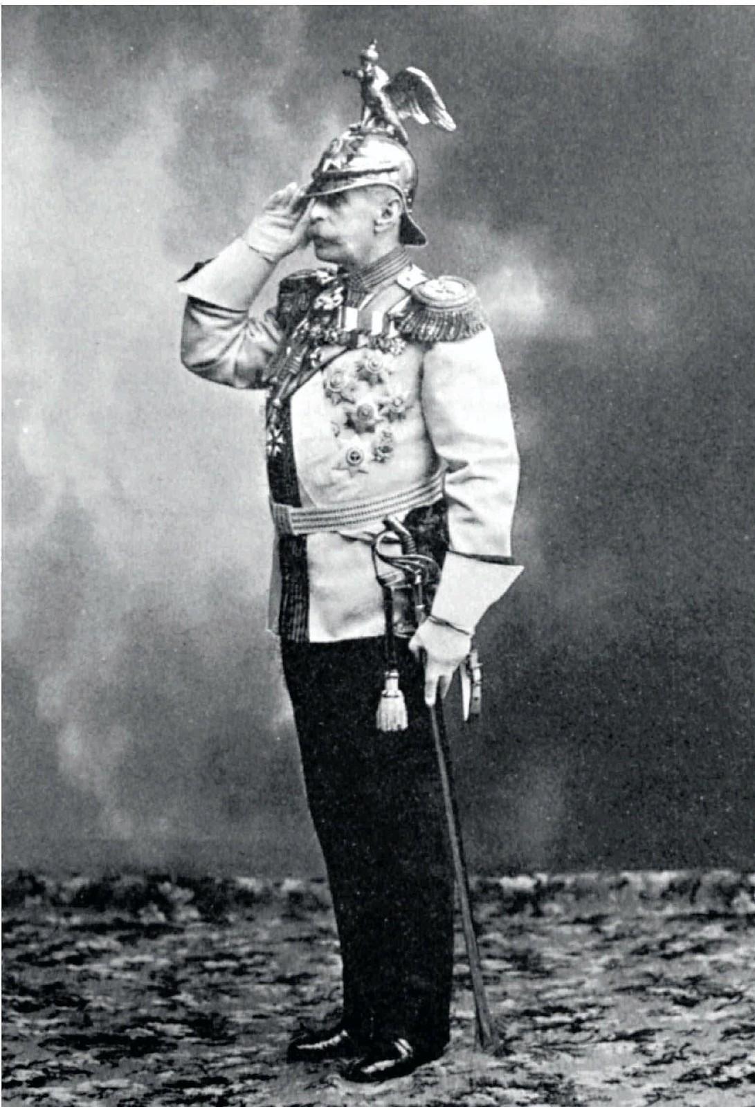 1913. Министр Императорского двора и уделов граф Владимир Борисович Фредерикс