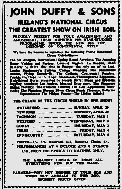 New Ross Standard - Friday 27 April 1956