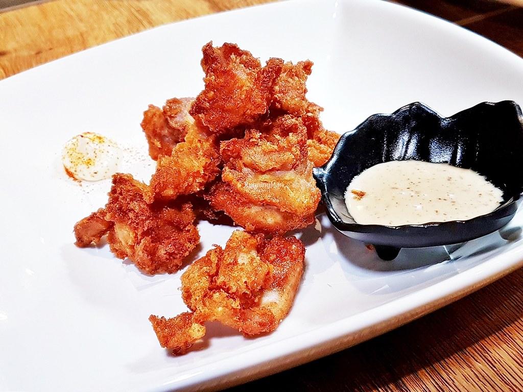 Niwatori Karaage / Deep-Fried Chicken With Sesame Dressing