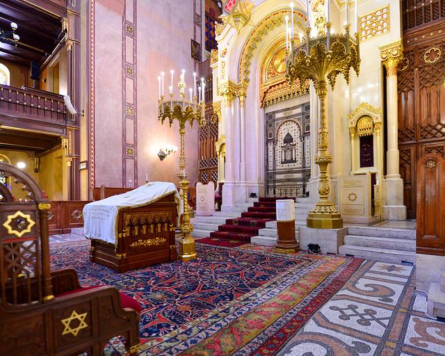 Altar de la Gran Sinagoga de Budapest