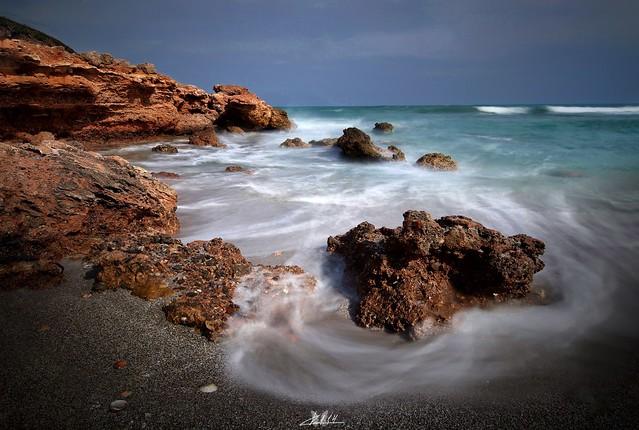 Cala de la Renegá, Oropesa del Mar (Castellón)...🌊🐚