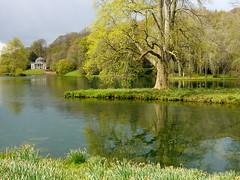 Stourhead gardens in Wiltshire