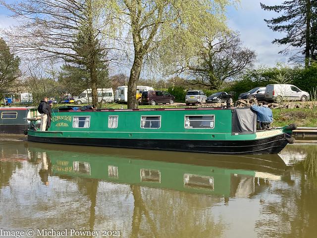 Corkscrew (53419) - on the Macclesfield Canal near Disley