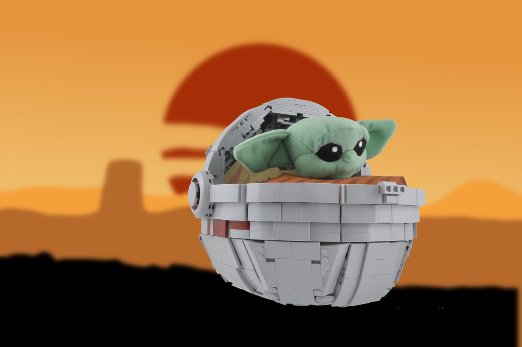 Baby Yoda Cradle