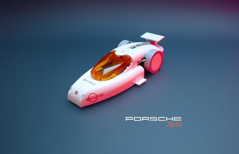 PORSCHE 2049 LEGO MOC
