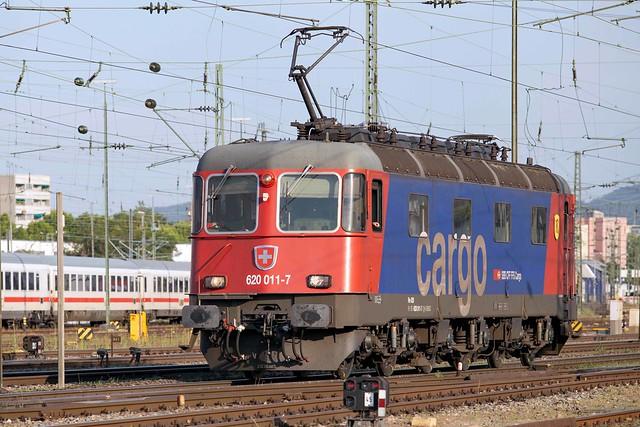 SBB Re 6/6 620 011 Basel Badischer Bahnhof