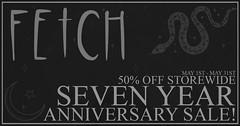 [Fetch] Seven Year Sale!