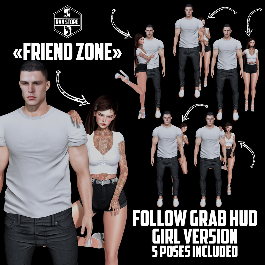 """rvn - """"friend zone"""" - follow grab HUD"""