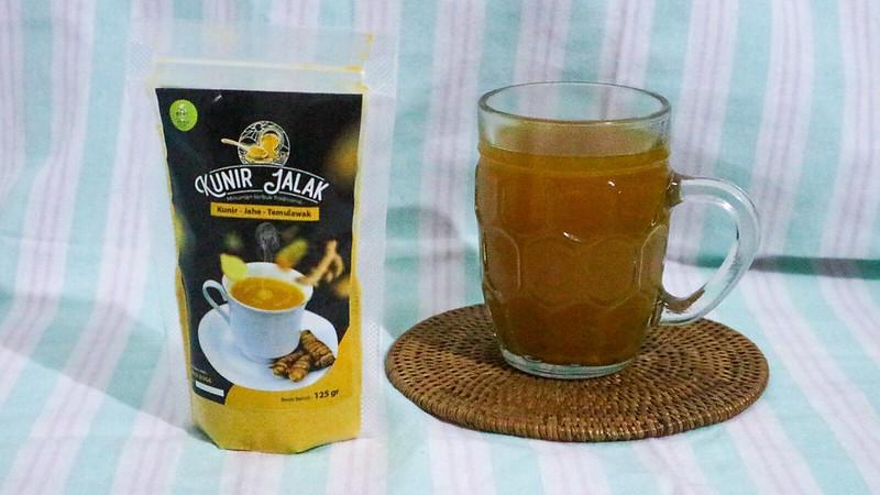 Kunir Jalak, Praktisnya Minum Jamu