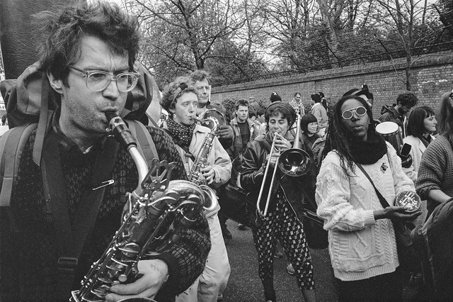 South Africa Freedom Now, March, Anti-Apartheid Movement, Westminster, 25/3/1990, 90-3k-56