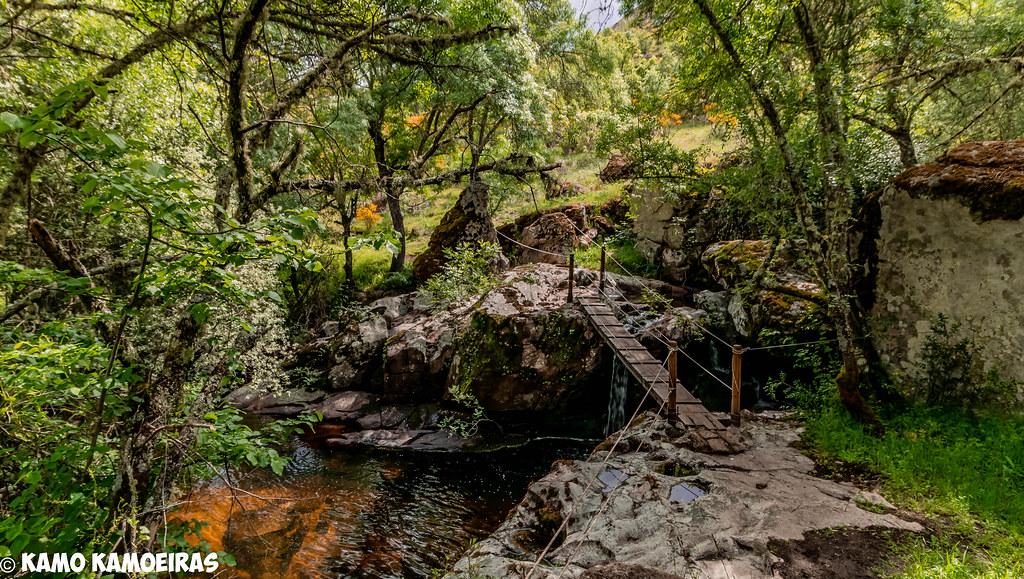 puente y molino del desgalgadero, Villarino de los Aires