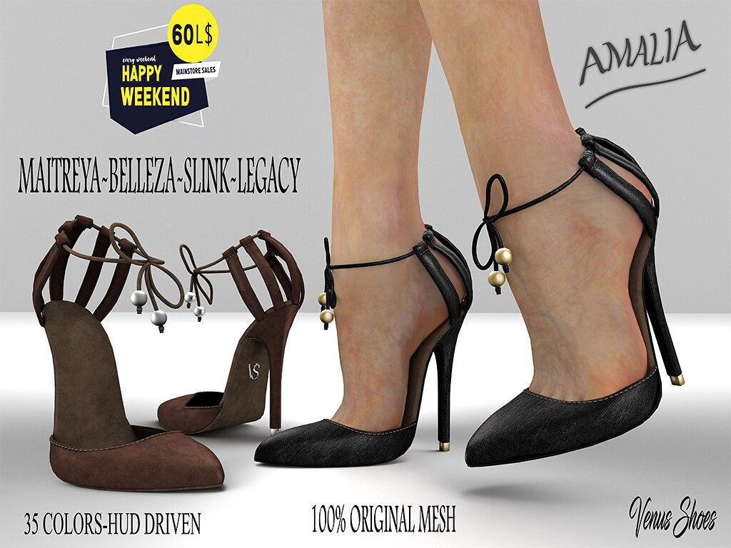 60L Happy Weekend V.S AMALIA SHOES FATPACK