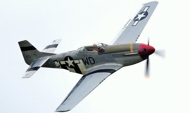 North American P51D Mustang G-SHWN 413779 USAAF 44-73877