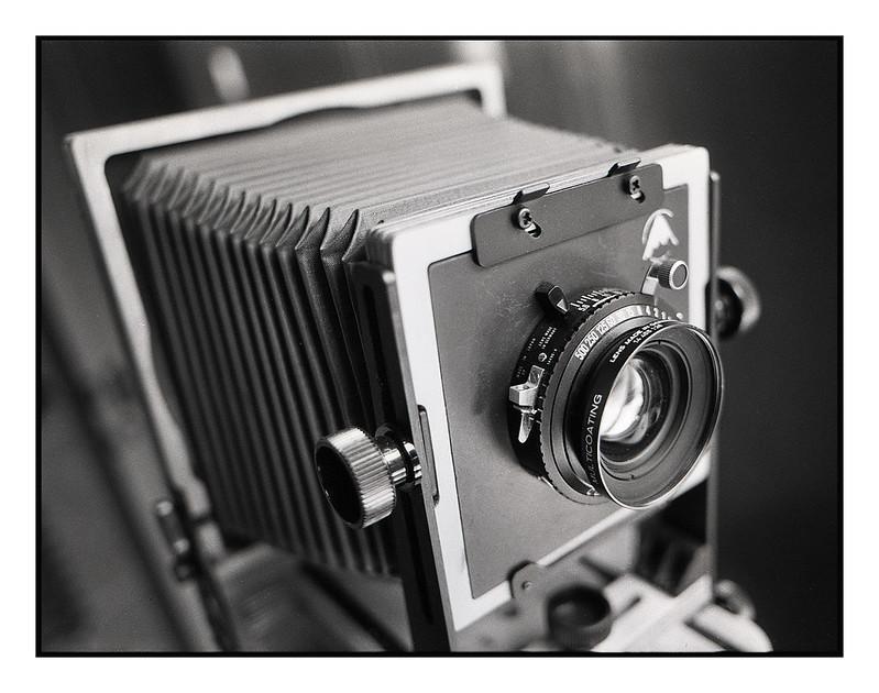 Intrepid 4x5 Camera