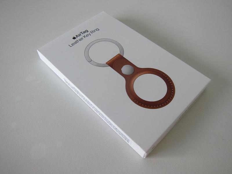 Apple AirTag Leather Key Ring - Box