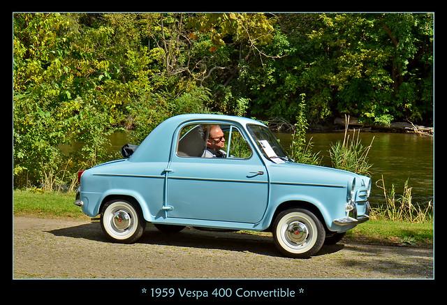 1959 Vespa 400 Convertible