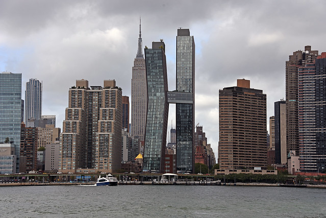 Picture Taken Of Midtown Manhattan Skyline Taken From Long Island City. Took The East River Ferry In Manhattan At 34th Street And Got Off At Hunters Point South In Long Island City. Photo Taken Sunday September 13, 2020