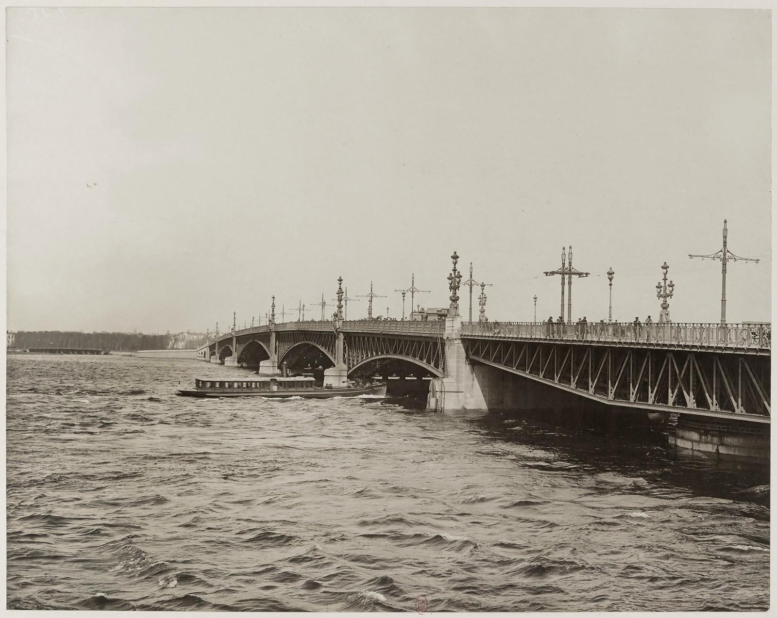 1913. Троицкий мост