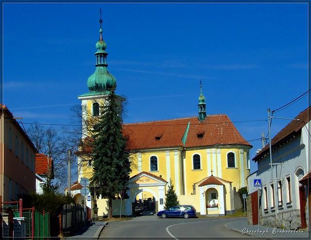 Sedlčany - Kostel Panny Marie