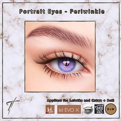 Tville - Portrait Eyes *periwinkle*