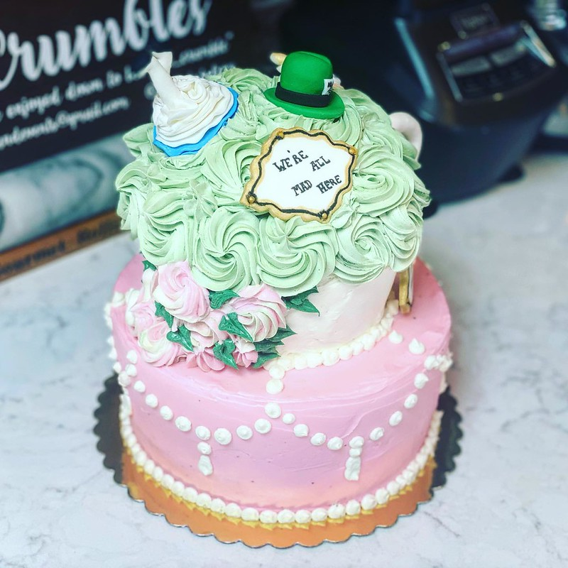 Cake by Crumbles Bakery
