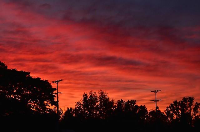 Last sunset April 2021