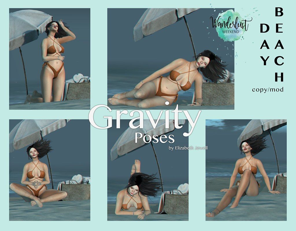 Gravity Poses for Wanderlust Weekend