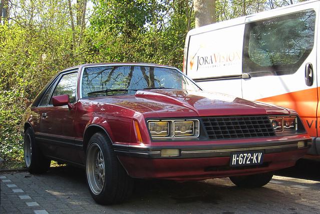 1979 Ford Mustang Fastback 2.8 V6