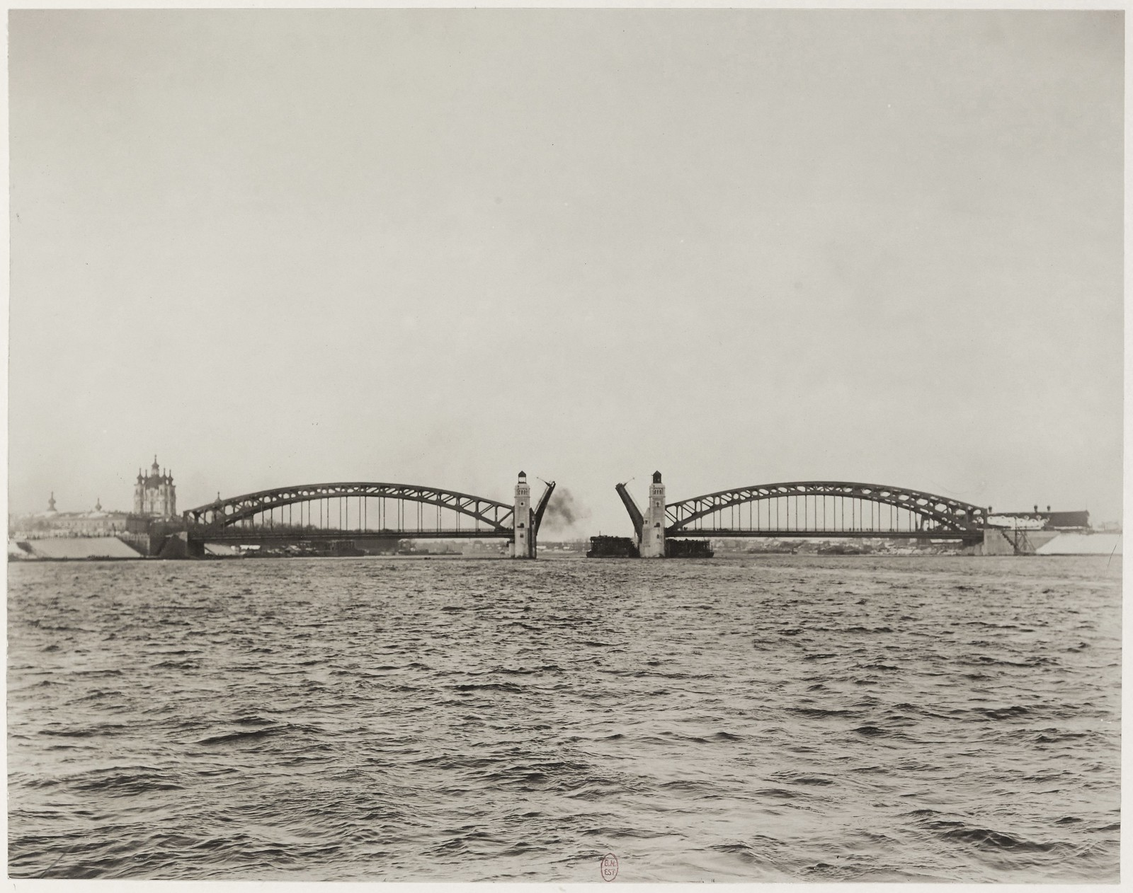 1911. Мост императора Петра Великого