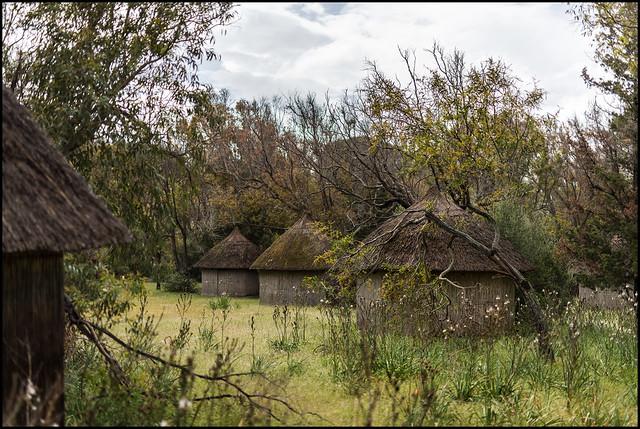 The abandoned Club Med village of Caprera