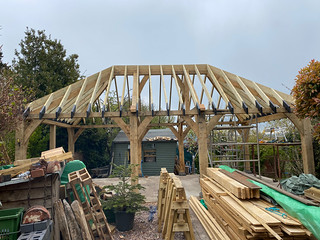 Softwood roof complete - 1