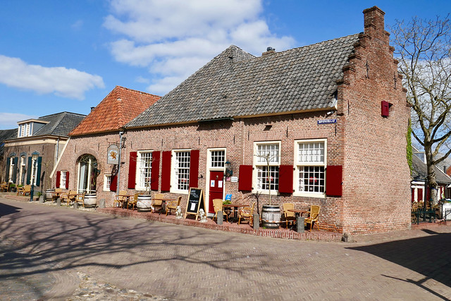The old city of Bronkhorst, NL