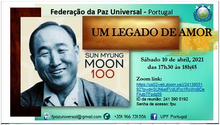 Portugal-2021-04-10-Centenary Event Honors UPF Founder