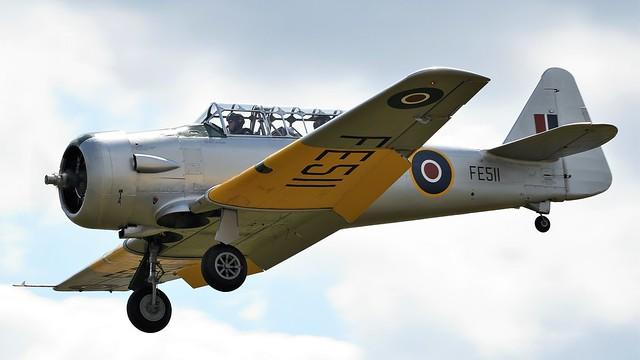 1942 Noorduyn AT-16 Harvard IIB G-CIUW FE511 RAF