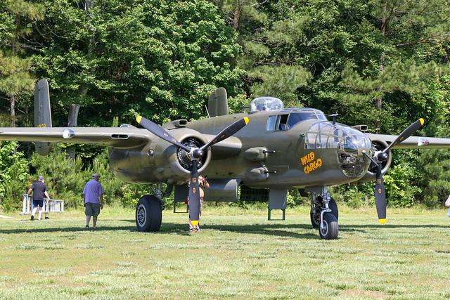 N7947C - North American B-25J Mitchell - Military Aviation Museum, Virginia Beach Airport (42VA) May 2019.