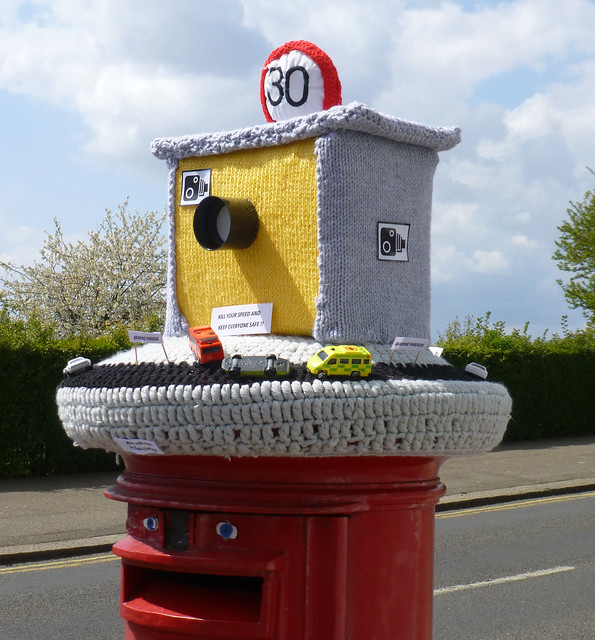 Post Box Topper, Leigh-on-Sea.