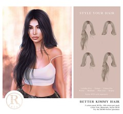 RAM.SALON - Better Kimmy Hair Styles @FaMESHed