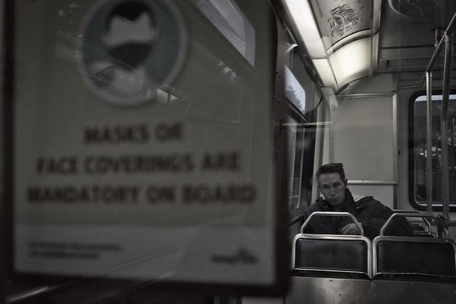 Onboard the Skytrain