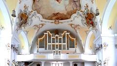 Schongau (Haute-Bavière, D) – L'orgue de l'église oaroissiale
