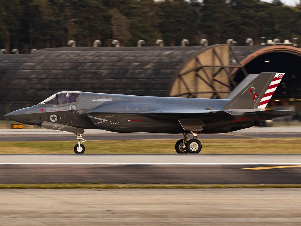 United States Marines VMFA-211   Lockheed Martin F-35B Lightning II   169621