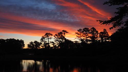 spectacularsunsetsandsunrises sunrise sunsetsandsunrisesgold dawn twilight cloudsstormssunsetssunrises cloudscape fairfieldharbour northcarolina omdem10 olympus
