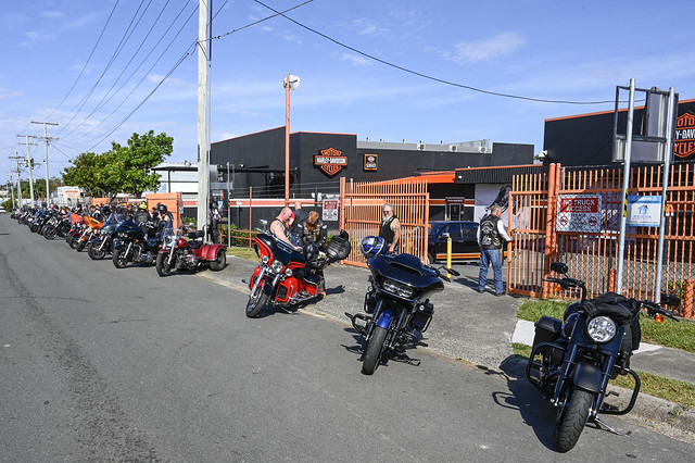 Gasoline Alley H-D Hog Ride