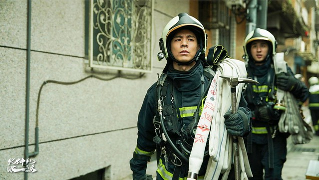 """The PTS TV series of """"《火神的眼淚》(Tears On Fire)"""" is launching from May 1, 2021 in Taiwan."""