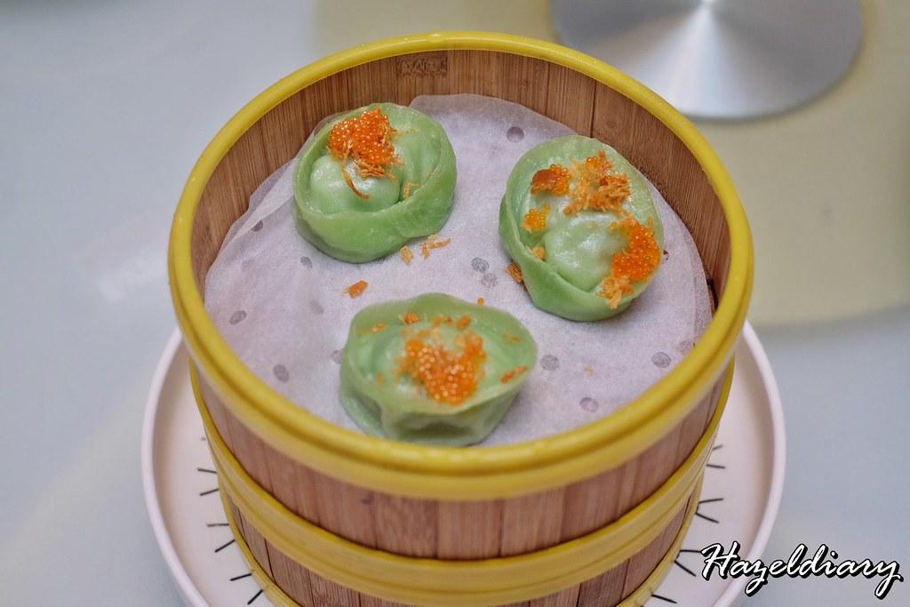 Crystal Jade Restaurants-Steamed Emerald Jade Scallop and Seafood Dumpling